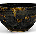 A 'Jizhou' 'tortoiseshell' bowl, Song dynasty (960-1279)