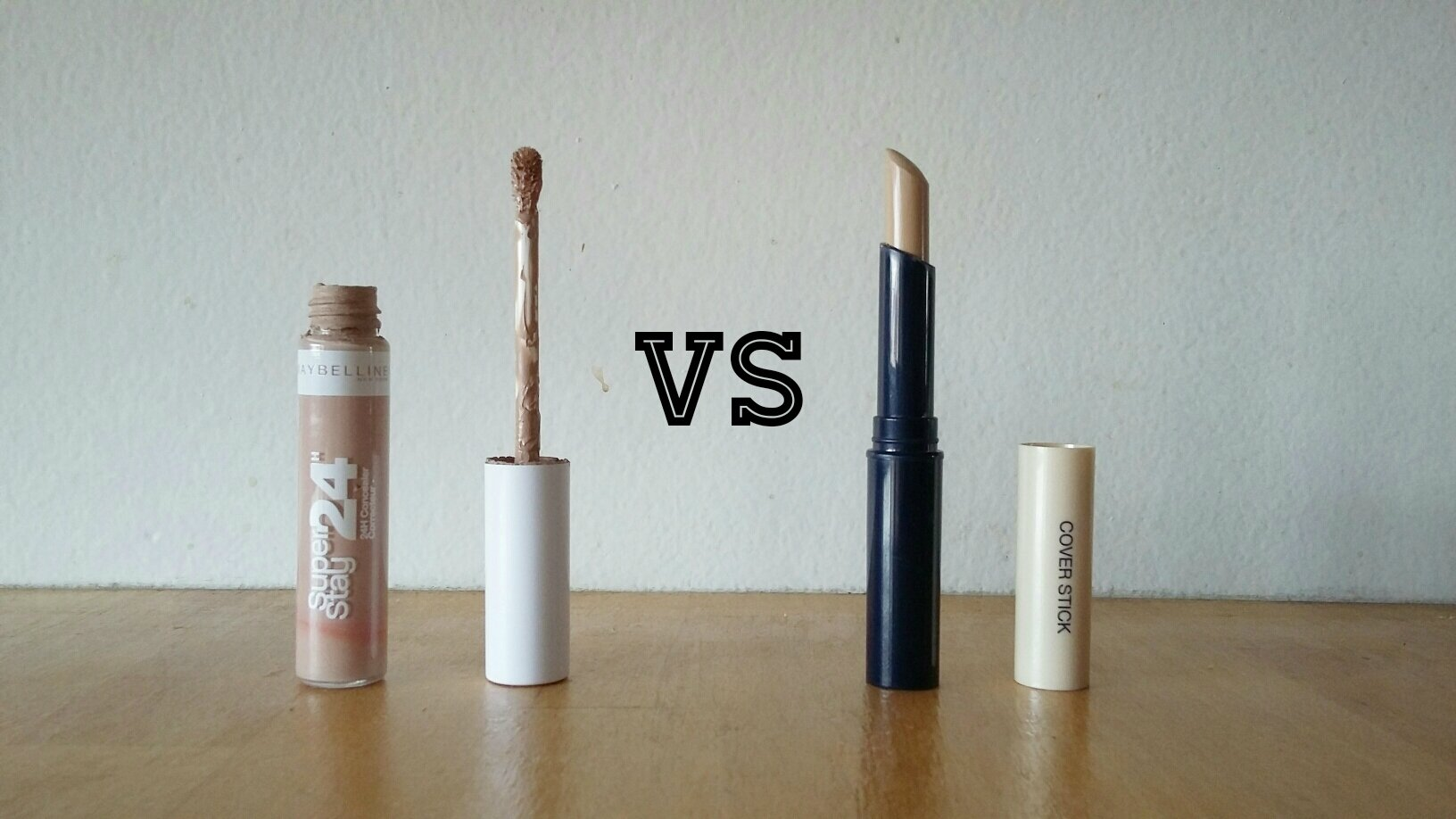 Battle : Superstay 24h VS Cover stick - de Gemey Maybelline ♥