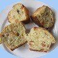 Muffins amaretto de Carla