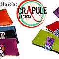 Portefeuille marcius - original chic et coloré style pop, retro, vintage, bohème.belle idée de cadeau. création crapule factory