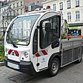 Goupil g3 plateau services techniques de la ville