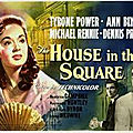 The house in the square, de roy ward baker