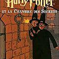 Harry potter et la chambre des secrets (j. k. rowling, 1998/1999)