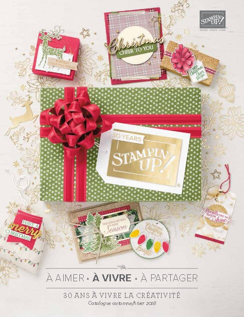 Couv catalogue Automne Hiver Stampin'up 2018