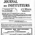 Journal des instits