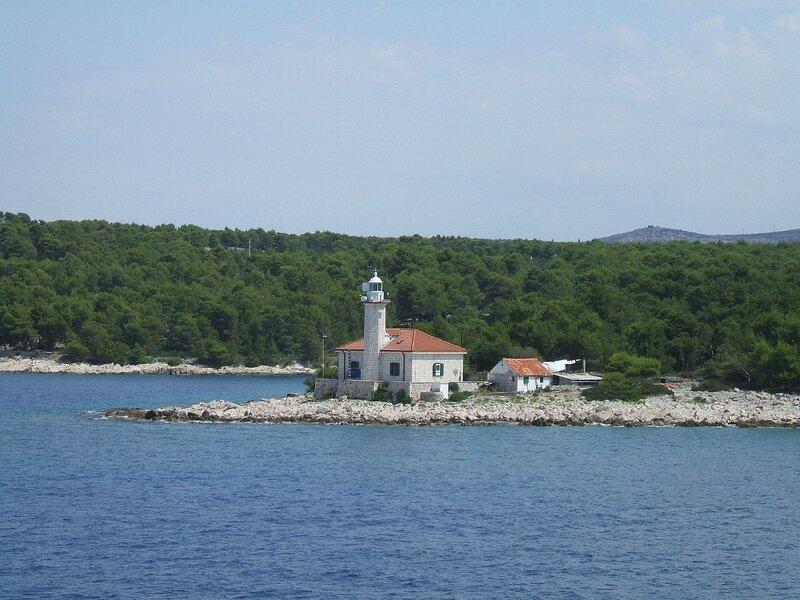 Croisière en direction de l'île de Hvar