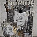 tuto carte 3d christmas