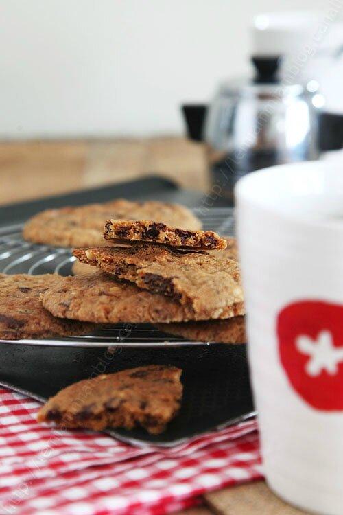 recette de cookies chocolat cacahuete 0003 LE MIAM MIAM BLOG