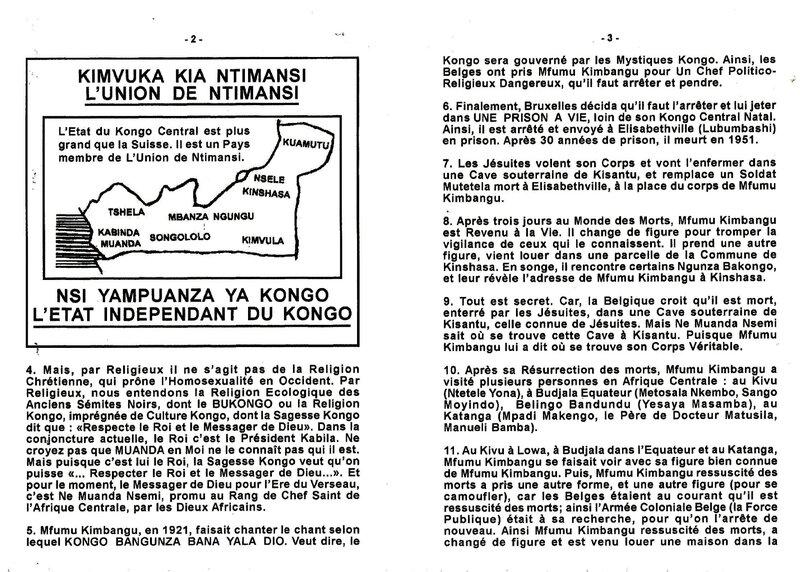 LE SEIGNEUR KIMBANGU APRES SA RESURRECTION DES MORTS Part 2 b