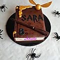 Gâteau harry potter - harry potter cake