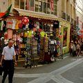 Animation rue de la Huchette.