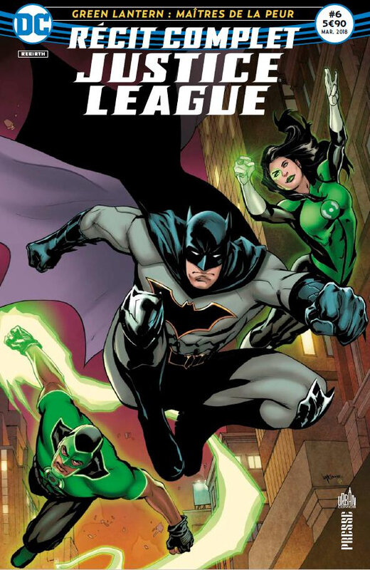 récit complet justice league 06 green lanterns