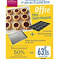 Exclusivite : offre mini saint-honore
