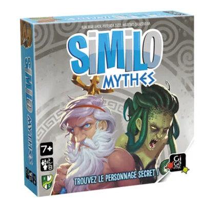 Boutique jeux de société - Pontivy - morbihan - ludis factory - Similo Mythes