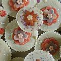 Cup-cakes Cherry Blossom