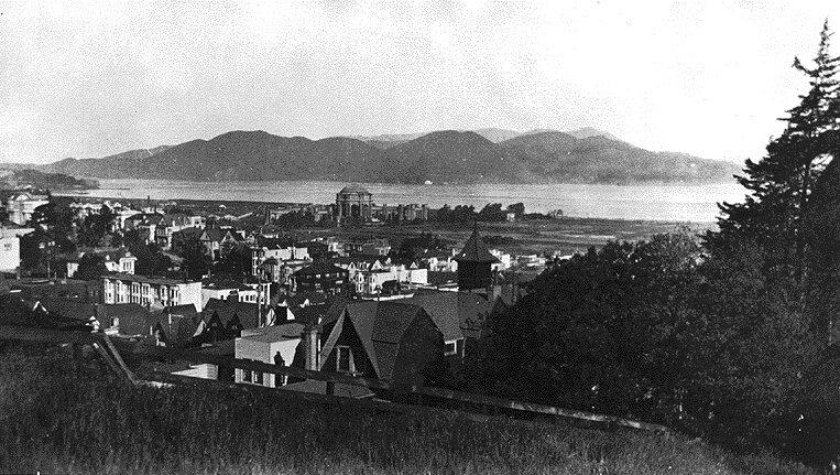 Marina in 1919 San Francisco