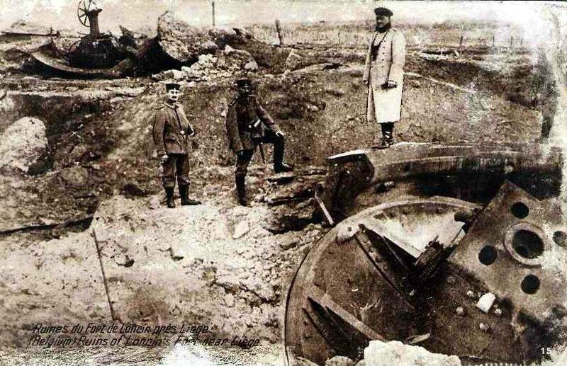 Ruines du fort de Loncin