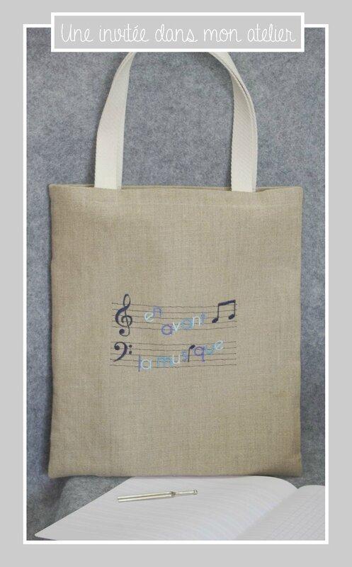 tote bag-lin-en avant la musique