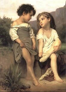 William-Adolphe_Bouguereau_(1825-1905)_-_At_the_Edge_of_the_Brook_(1879)