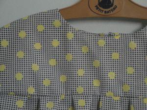 Daisy Alice polka pois jaune (4)