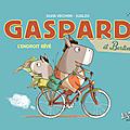 Gaspard et berlingot, l'endroit rêvé et la bd rêvée pour initier les petits au 9ème art!!