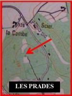 les Prades localisation sur la carte