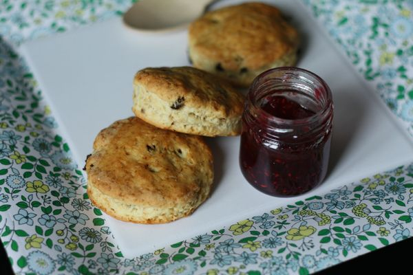 scones aux raisins secs blog chez requia cuisine et confidences