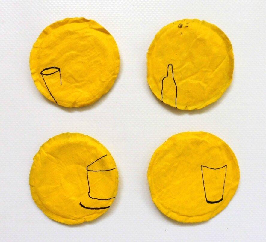 Macarons café-citron