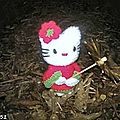 Hello Kitty en Kokeshi