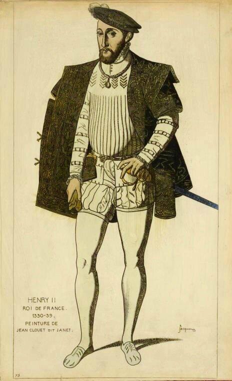 Henri II dessin Jacquemin - 1