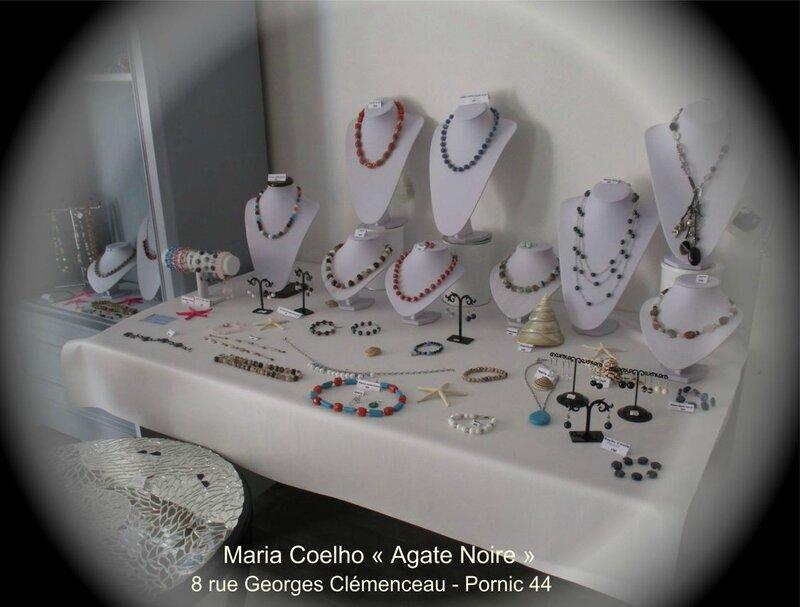 Maria COELHO créatrice bijoux AGATE NOIRE à Pornic (5)
