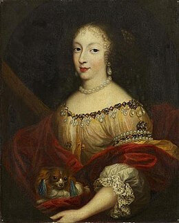 Henriette d'Angleterre aussi nommée Henriette-Anne Stuart