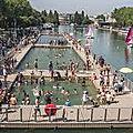 Paris : le bassin de la villette est ouvert !
