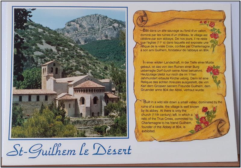 St Guilhem le désert - Abbaye
