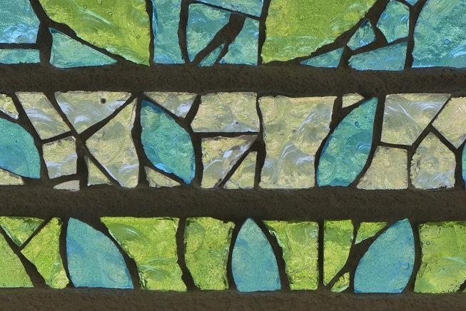 détail dalle de verre - clotilde gontel