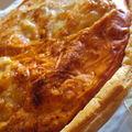 Quiche tomate/mozzarella