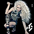 Jolin's part in 100% entertainment + 呸 play covers of pre-order versions
