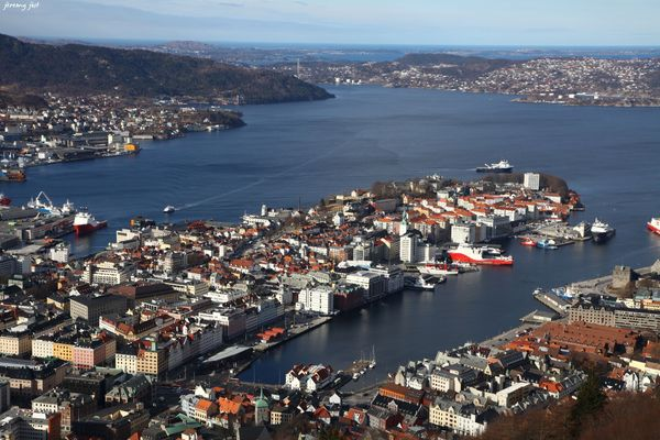 point de vue sur bergen
