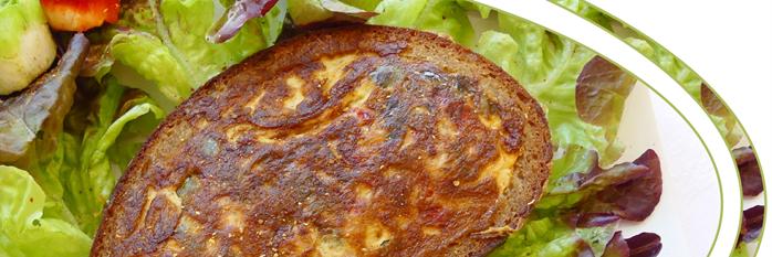 tartine d'omelette