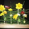 Barriere de fleurs
