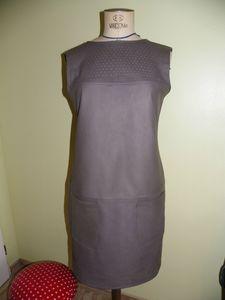 robe cuir Maryse (2)
