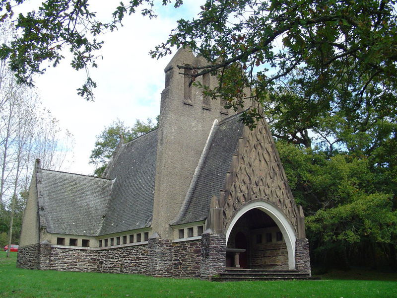 Goven, chapelle Sainte Anne de l'Ermitage