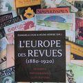 ACTES DU COLLOQUE : L'EUROPE DES REVUES