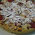 Gâteau aux fraises et mascarpone
