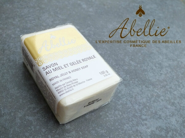 1 Savon-Miel-Gelée-Royale-Abellie-FamilleMary-Famille-Mary-MamanFlocon-Maman-Flocon