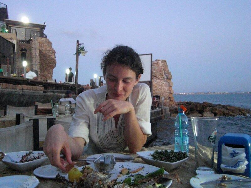 Amélie savoure la cuisine arabe