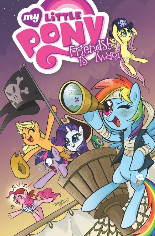 my little pony frienship is magic vol 4 TP