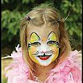 Maquillage pour enfants - mardi gras