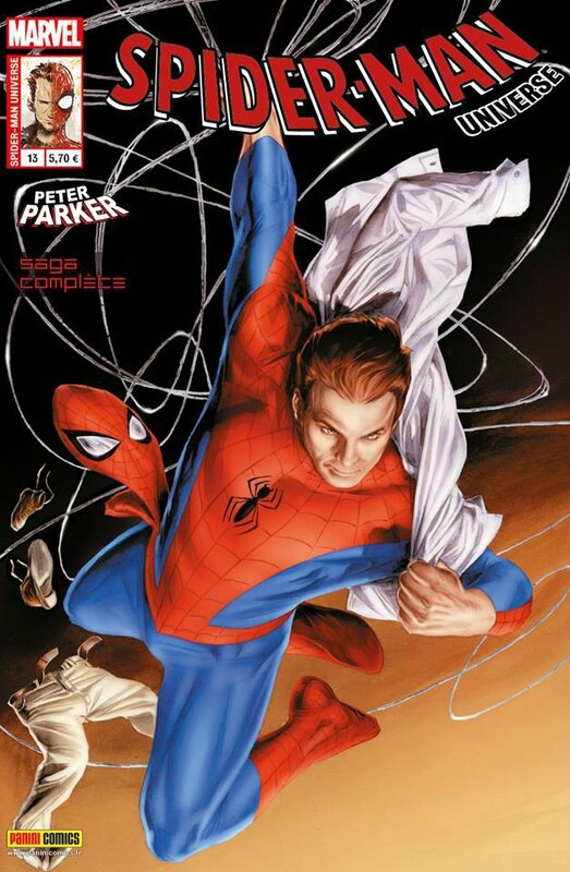 spiderman universe 13 peter parker