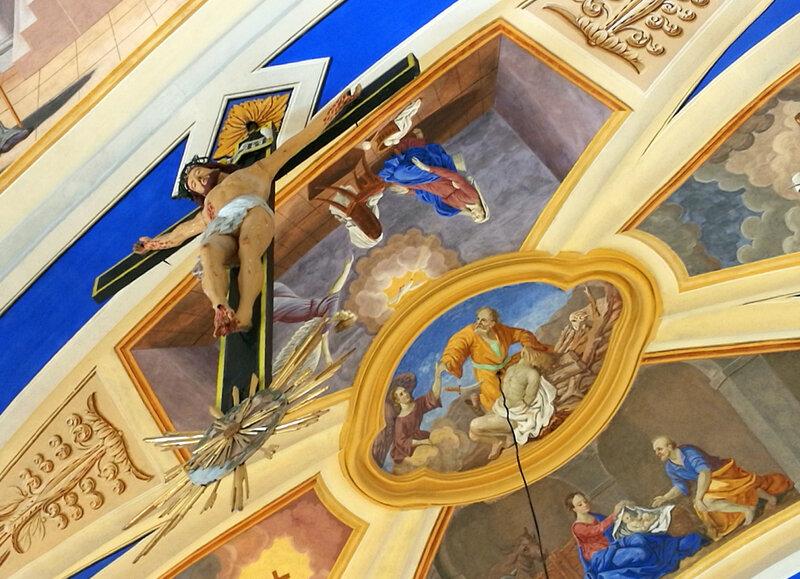 Saint-Nicolas-de-Véroce, église, intérieur, le christ